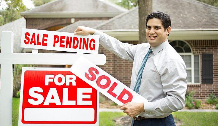 Property sales trending downwards