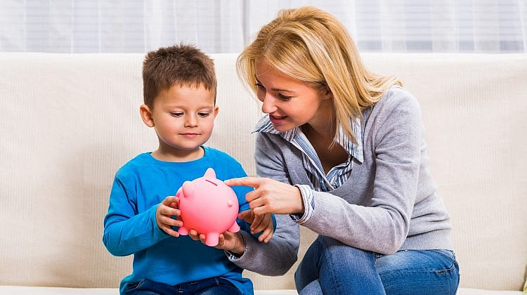 Are there special savings accounts for children?