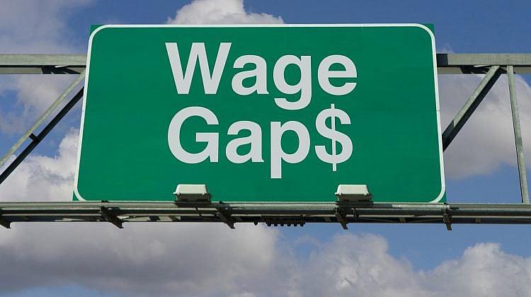Gender salary gap narrows, but remains large