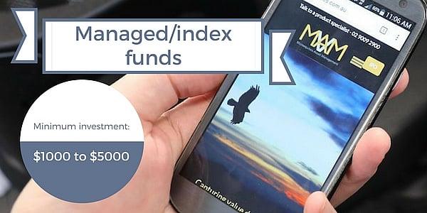 managed index funds