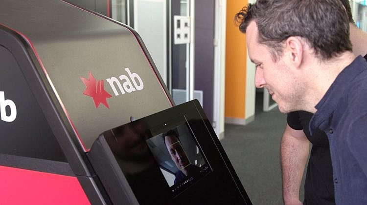 NAB demos face security for Australian ATMs