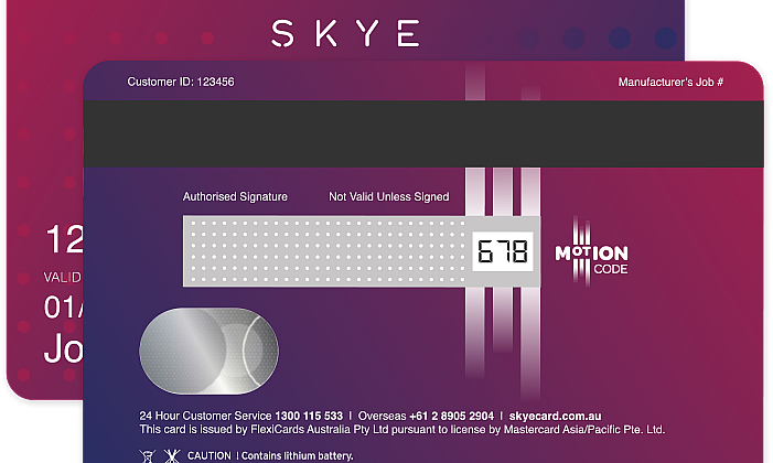 Skye Mastercard offers up to 90 days interest-free