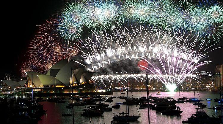 Where to see the 2018 NYE fireworks