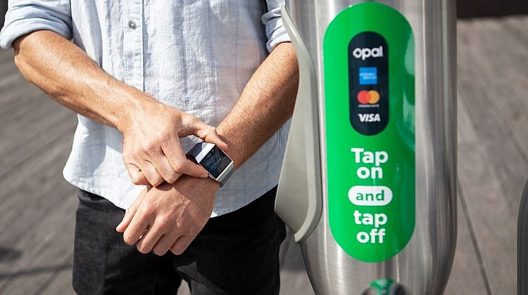Fitbit to be used for Sydney's Opal via Visa, MasterCard