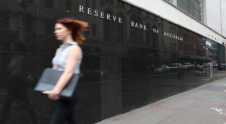 Reserve Bank of Australia with recession looming