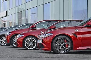 Alfra Romeo Giulia and Stelvio vehicles