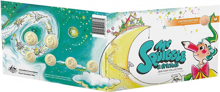 Mr Squiggle $2 coin launched in Woolworths