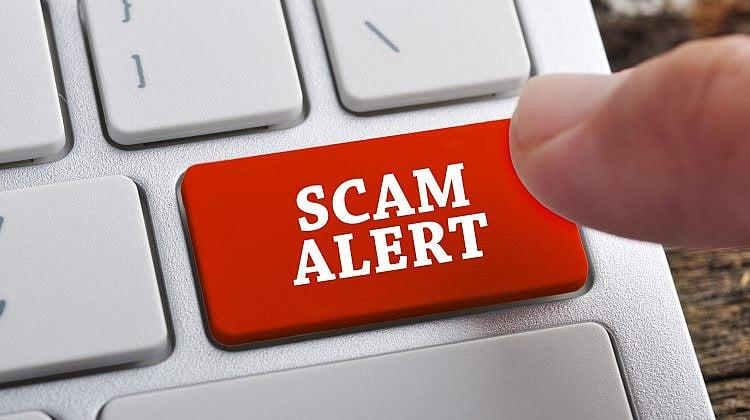 Fraudsters stealing money, banking details